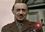 Image of Field Marshal Alan Brooke London England United Kingdom, 1944, second 23 stock footage video 65675022055