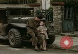 Image of French towns post-invasion France, 1944, second 20 stock footage video 65675022060