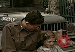 Image of French towns post-invasion France, 1944, second 21 stock footage video 65675022060