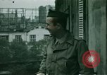 Image of French towns post-invasion France, 1944, second 42 stock footage video 65675022060