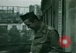 Image of French towns post-invasion France, 1944, second 43 stock footage video 65675022060