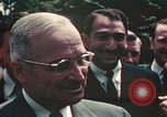 Image of President Harry Truman Washington DC USA, 1949, second 61 stock footage video 65675022069