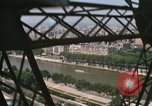Image of Eiffel Tower views Paris France, 1969, second 11 stock footage video 65675022081