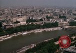 Image of Eiffel Tower views Paris France, 1969, second 39 stock footage video 65675022081