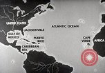 Image of hurricane detection United States USA, 1961, second 4 stock footage video 65675022095