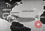 Image of hurricane detection United States USA, 1961, second 14 stock footage video 65675022095