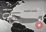 Image of hurricane detection United States USA, 1961, second 17 stock footage video 65675022095
