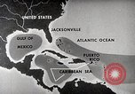 Image of hurricane detection United States USA, 1961, second 38 stock footage video 65675022095