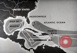 Image of hurricane detection United States USA, 1961, second 45 stock footage video 65675022095