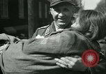 Image of victims of concentration camp Germany, 1945, second 12 stock footage video 65675022108