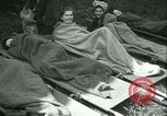 Image of victims of concentration camp Germany, 1945, second 16 stock footage video 65675022108