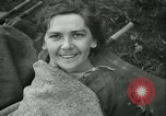 Image of victims of concentration camp Germany, 1945, second 23 stock footage video 65675022108
