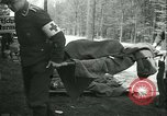 Image of victims of concentration camp Germany, 1945, second 27 stock footage video 65675022108