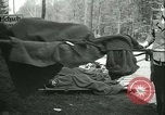 Image of victims of concentration camp Germany, 1945, second 28 stock footage video 65675022108