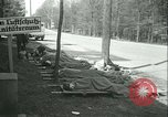 Image of victims of concentration camp Germany, 1945, second 32 stock footage video 65675022108
