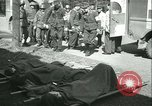 Image of victims of concentration camp Germany, 1945, second 62 stock footage video 65675022108