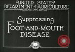 Image of foot and mouth disease United States USA, 1925, second 15 stock footage video 65675022110