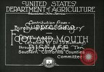 Image of foot and mouth disease United States USA, 1925, second 22 stock footage video 65675022110