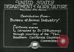 Image of foot and mouth disease United States USA, 1925, second 33 stock footage video 65675022110