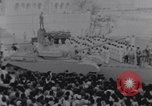 Image of tanks in Millitary parade Baghdad Iraq, 1959, second 34 stock footage video 65675022137