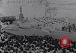 Image of tanks in Millitary parade Baghdad Iraq, 1959, second 35 stock footage video 65675022137
