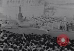 Image of tanks in Millitary parade Baghdad Iraq, 1959, second 36 stock footage video 65675022137
