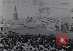 Image of tanks in Millitary parade Baghdad Iraq, 1959, second 43 stock footage video 65675022137