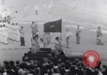 Image of tanks in Millitary parade Baghdad Iraq, 1959, second 44 stock footage video 65675022137