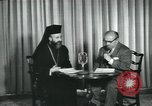Image of Archbishop Makarios and John Harding Nicosia Cyprus, 1955, second 11 stock footage video 65675022144