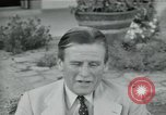 Image of Archbishop Makarios and John Harding Nicosia Cyprus, 1955, second 50 stock footage video 65675022144