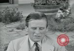 Image of Archbishop Makarios and John Harding Nicosia Cyprus, 1955, second 51 stock footage video 65675022144