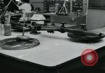 Image of PrecisionGrinding of glass lenses Anaheim California USA, 1960, second 21 stock footage video 65675022147