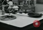 Image of PrecisionGrinding of glass lenses Anaheim California USA, 1960, second 23 stock footage video 65675022147