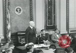 Image of President Dwight D Eisenhower Washington DC USA, 1953, second 4 stock footage video 65675022162