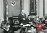 Image of President Dwight D Eisenhower Washington DC USA, 1953, second 24 stock footage video 65675022162