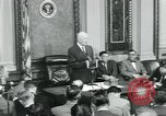 Image of President Dwight D Eisenhower Washington DC USA, 1953, second 25 stock footage video 65675022162