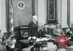 Image of President Dwight D Eisenhower Washington DC USA, 1953, second 32 stock footage video 65675022162