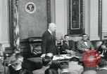 Image of President Dwight D Eisenhower Washington DC USA, 1953, second 33 stock footage video 65675022162