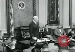 Image of President Dwight D Eisenhower Washington DC USA, 1953, second 36 stock footage video 65675022162