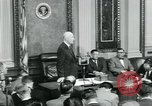 Image of President Dwight D Eisenhower Washington DC USA, 1953, second 38 stock footage video 65675022162