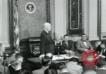 Image of President Dwight D Eisenhower Washington DC USA, 1953, second 39 stock footage video 65675022162