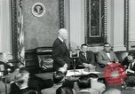 Image of President Dwight D Eisenhower Washington DC USA, 1953, second 48 stock footage video 65675022162