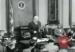 Image of President Dwight D Eisenhower Washington DC USA, 1953, second 51 stock footage video 65675022162