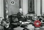 Image of President Dwight D Eisenhower Washington DC USA, 1953, second 60 stock footage video 65675022162