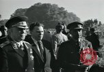 Image of Jawaharlal Nehru at Republic Day parade New Delhi India, 1950, second 4 stock footage video 65675022163
