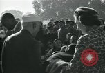 Image of Jawaharlal Nehru at Republic Day parade New Delhi India, 1950, second 21 stock footage video 65675022163