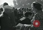 Image of Jawaharlal Nehru at Republic Day parade New Delhi India, 1950, second 23 stock footage video 65675022163