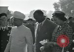 Image of Jawaharlal Nehru at Republic Day parade New Delhi India, 1950, second 28 stock footage video 65675022163