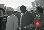 Image of Jawaharlal Nehru at Republic Day parade New Delhi India, 1950, second 30 stock footage video 65675022163