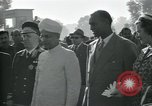 Image of Jawaharlal Nehru at Republic Day parade New Delhi India, 1950, second 31 stock footage video 65675022163